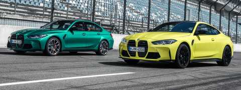 BMW M3 Sedan ve BMW M4 Coupe yenilendi